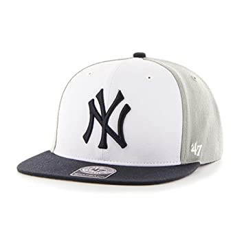 66cbb6a4a939 47 New York Yankees NY Men's Amble Captain Snapback Hat, Baseball ...