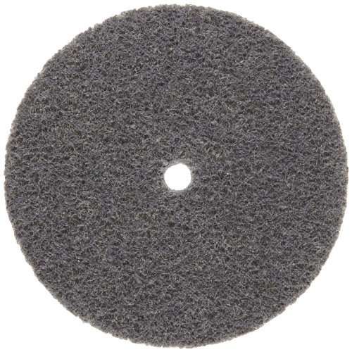 Norton Bear-Tex Nex Unified Nonwoven Abrasive Wheel, Silicon Carbide, 2 Density, 3 Diameter x 1/4 Thickness, Grit Fine (Pack of 40) by Norton Abrasives - St. Gobain
