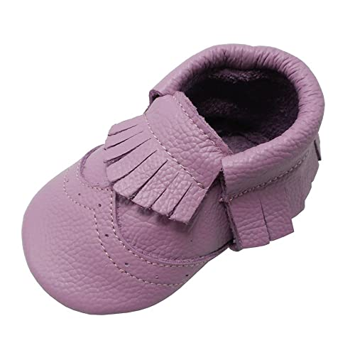 Mejale Baby Shoes Toddler Infant Soft Bottom Crawler Moccasins First Crib Slippers