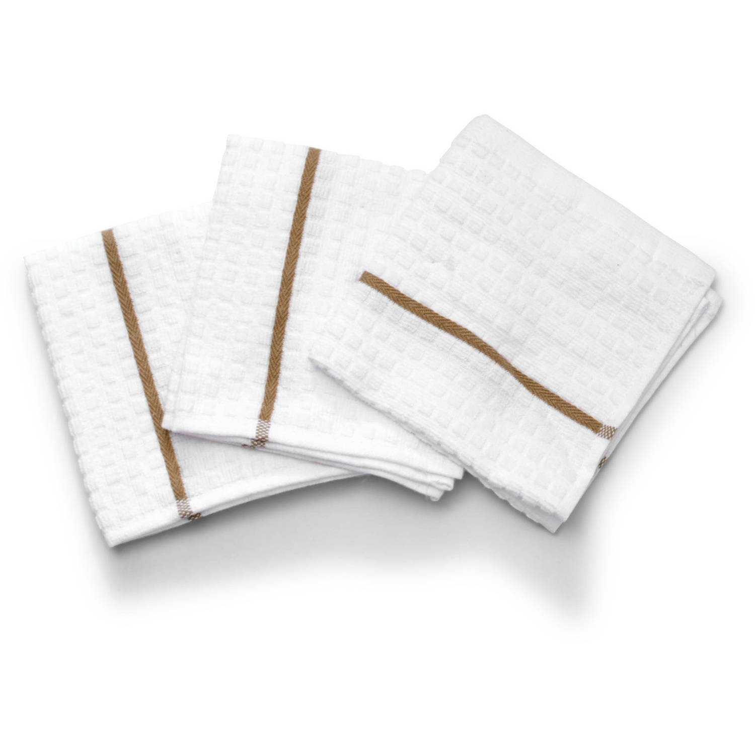Clorox Dish Cloths 3 pack, Bleach-Safe Color, Anti-Microbial Protection