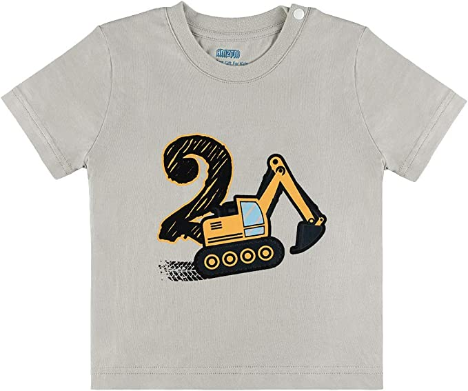 2nd Birthday Gifts For 2 Year Old Boys  This Is Awesome 2 Year Old T-Shirt