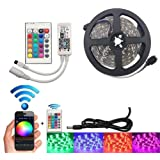 CattleBie 12V 2835 SMD Colorful RGB WiFi Waterproof LED Strip 10M 15M Smart Flexible Light Wireless Control TV Light…