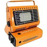 WEIMALL カセットガスストーブ ポータブル ガスストーブ ガスヒーター 温度・角度調整付 屋外用