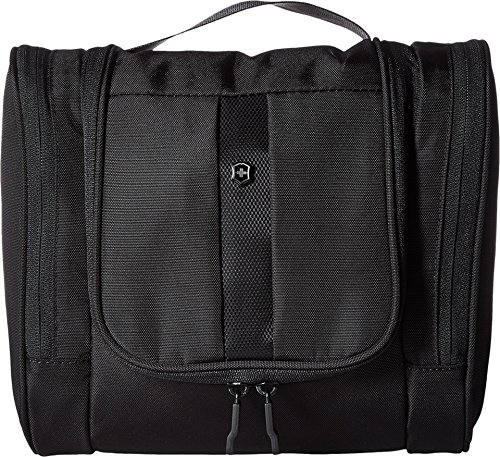 Altmans Towel Bar - Victorinox Unisex Hanging Toiletry Kit Black/Black Logo Luggage Accessory