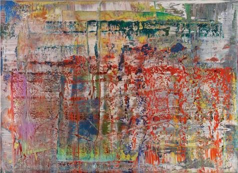 Oil Painting 'Gerhard Richter - Panorama,20th Century', 24 x 33 inch / 61 x 84 cm , on High Definition HD canvas prints is for Gifts And Bed Room, Laundry Room And Nursery Decoration, (Masterpiece Magazine Rack)