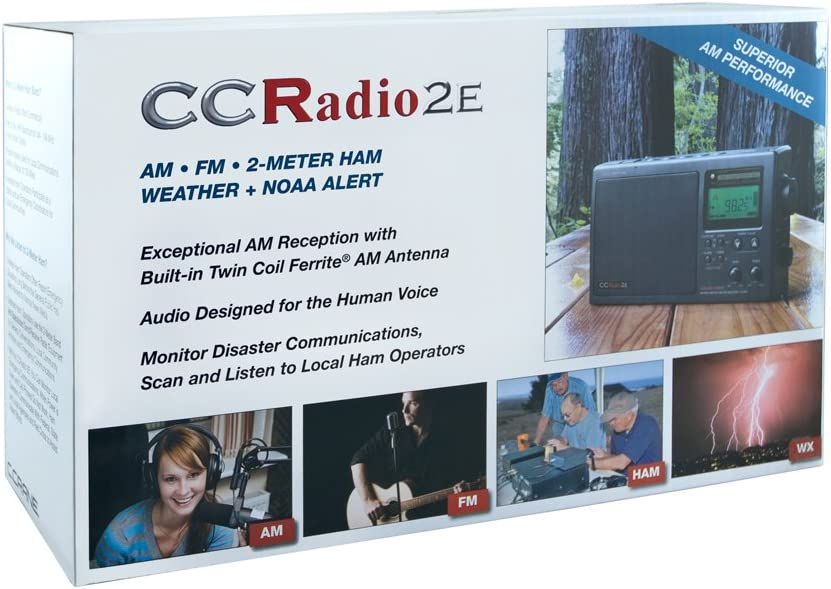 CCRadio 2E Enhanced AM//FM// with Weather Band and 2m Ham Radio