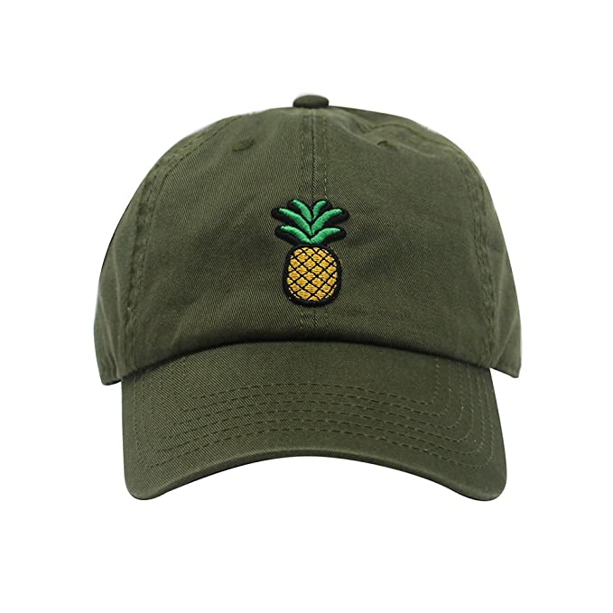 17a2d083 ChoKoLids Pineapple Dad Hat   Cotton Baseball Cap   Polo Style Low Profile    13 Colors