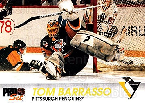 ((CI) Tom Barrasso Hockey Card 1992-93 Pro Set (base) 145 Tom Barrasso)