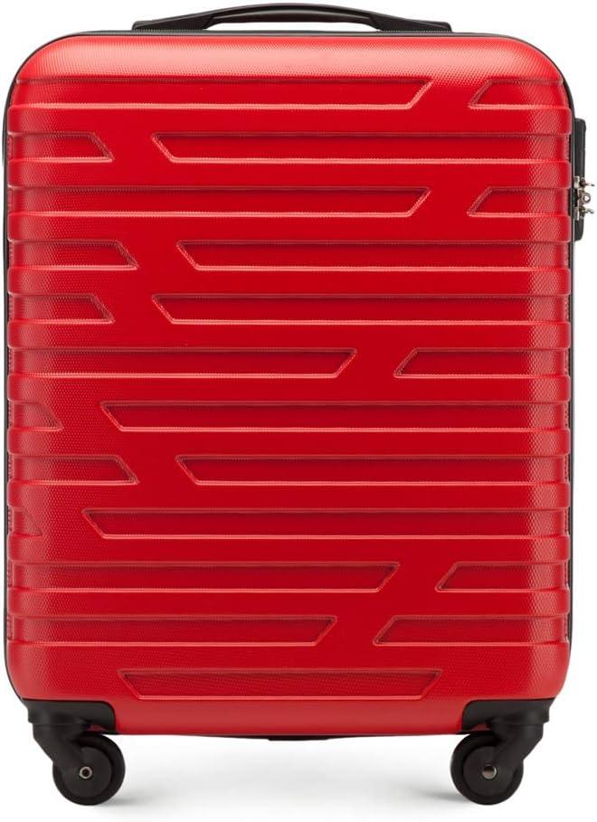 WITTCHEN Arrow Line Equipaje de Mano 54 Centimeters Rojo (Rot)