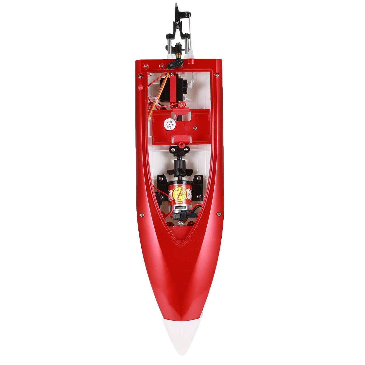 Lorenlli pour FT007 2.4G 4CH Refroidisseur deau Bateau De Course RC 20km h Super Vitesse /Électrique Bateau RC Jouet T/él/écommande Bateaux