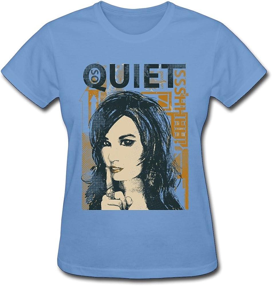 WSB Women's Tshirts Quiet Girl Sky