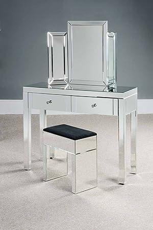 My-Furniture CHELSEA Mirrored Dressing Table - Madison: Amazon.co.uk ...