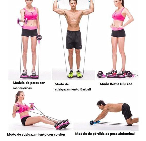 hejinyun aparatos de gimnasia para hombres ejercicio equipos de gimnasia casa gimnasio abdominales ronda abdominal cintura delgada abdomen rueda del abdomen ...