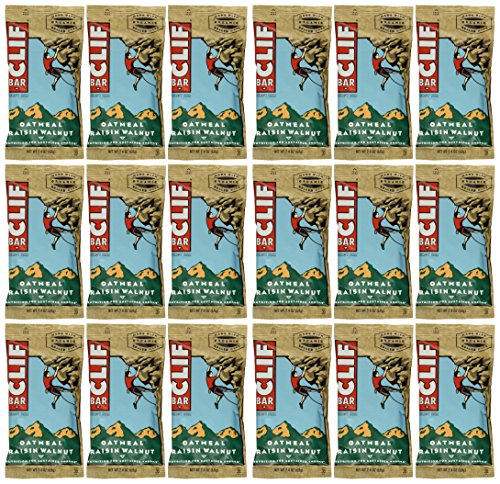 Clif Chocolate Almond Fudge (Clif Bar Variety Pack, 6 Flavors X 2 of Each (Blueberry Crisp, Chocolate Almond Fudge,Chocolate Chip,Crunchy Peanut Butter,Oatmeal Raisin Walnut, White Chocolate Macadamia Nut))