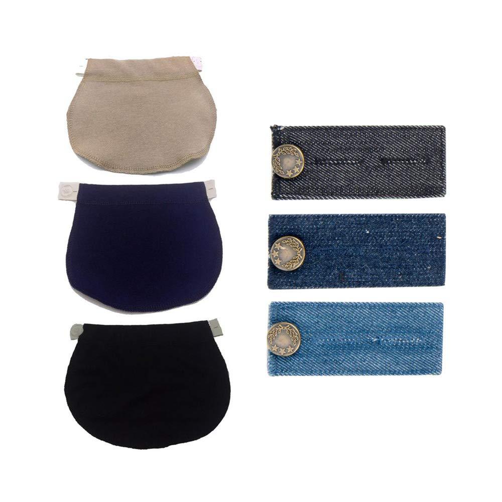 Schwangerschaft Hosenerweiterung Taillenstreckband für Schwanger | Passen Sie Ihre Normale Kleidung Wie Jeans, Hosen, Röcke in Umstandsmode Röcke in Umstandsmode