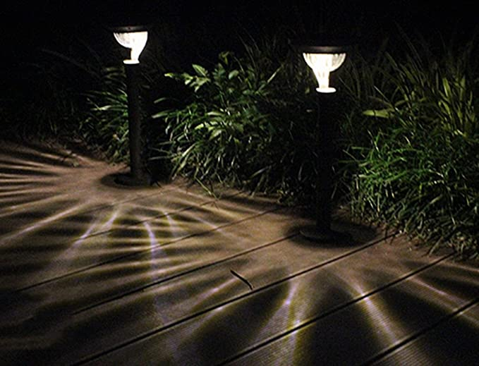 Solare luci led da giardino abs metallo energieeffiziente ambiente