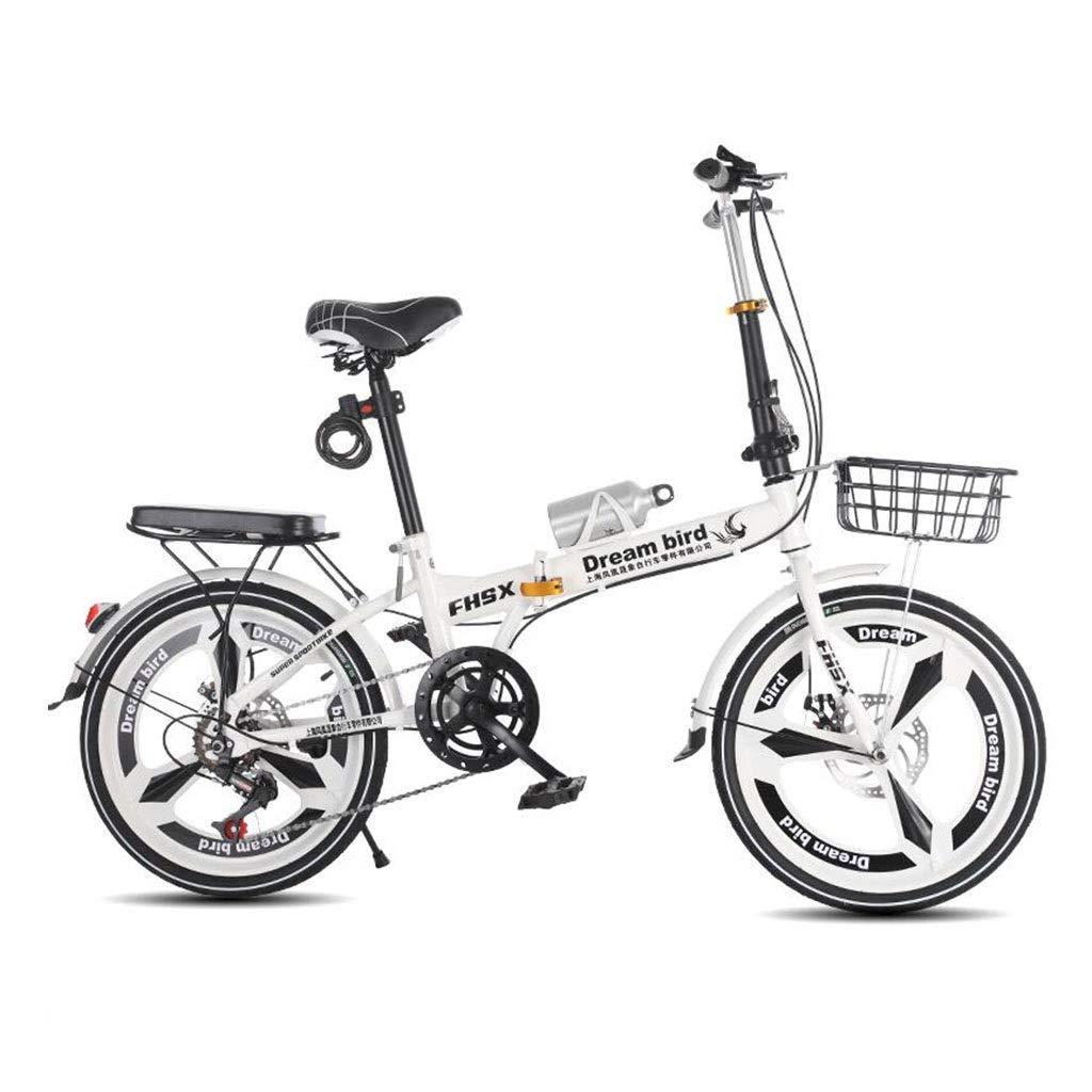 新作からSALEアイテム等お得な商品満載 折りたたみ自転車 折りたたみ自転車シフトディスクブレーキ衝撃吸収折りたたみ自転車女性の自転車6速20インチホイール自転車 Size (Color 白 : 白, Size : 150*30 白,*100cm) 150*30*100cm 白 B07PS4Y2D5, 下倉楽器 管楽器専門店:c2c62d1a --- senas.4x4.lt