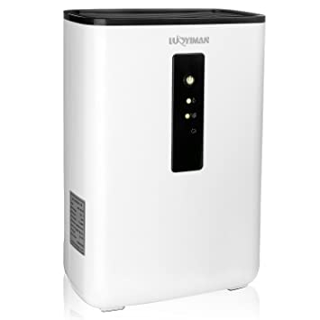 Delightful LUOYIMAN Dehumidifier Electric Home Dehumidifier Quiet Operation With UV  Sterilization (2.5 Liter)