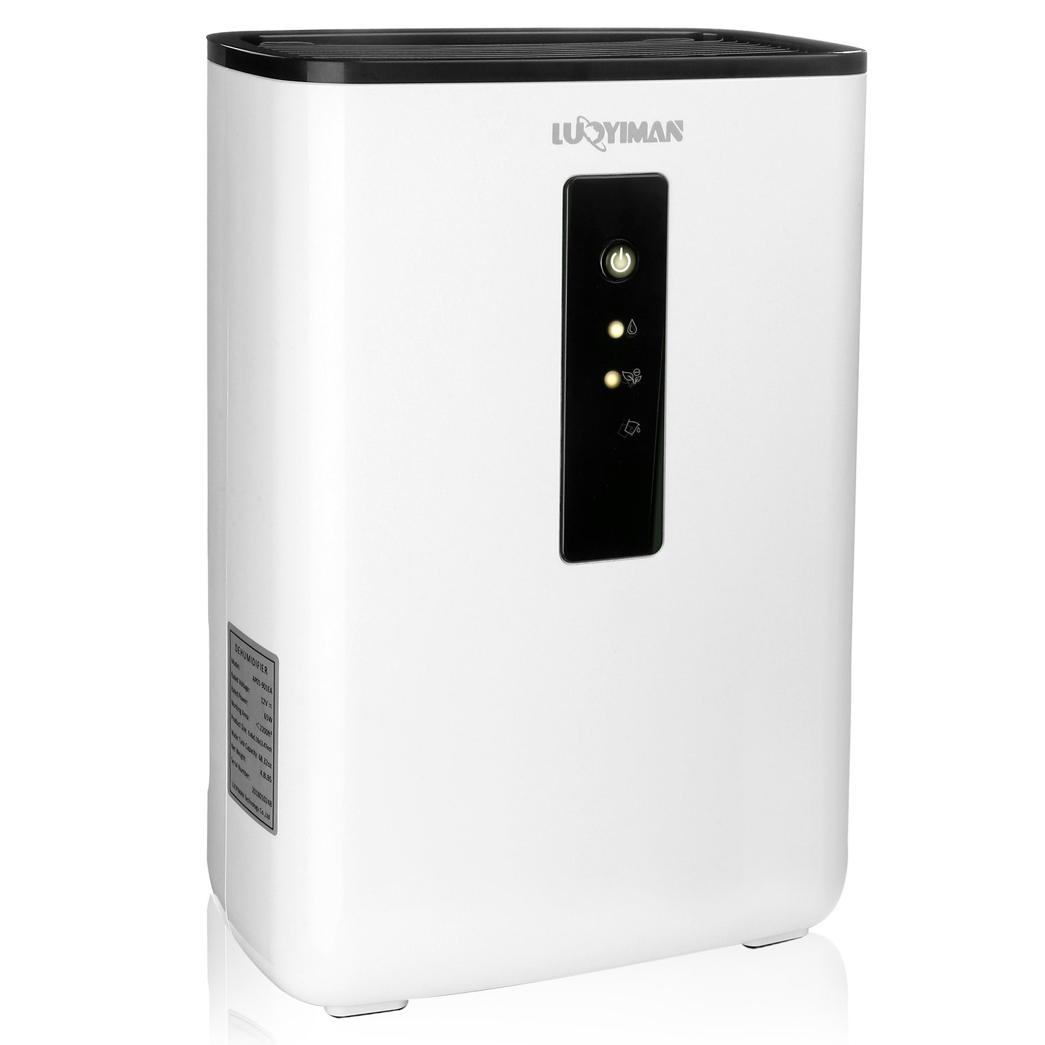 LUOYIMAN Dehumidifier Electric Home Dehumidifier Quiet Operation with UV Sterilization (2.5 Liter) by LUOYIMAN (Image #1)