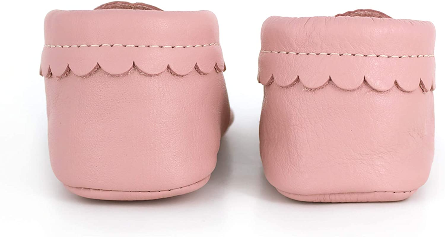 Infant//Toddler Sizes 3-7 Freshly Picked Rubber Mini Sole Leather Mary Jane Moccasins Multiple Colors Toddler Girl Shoes