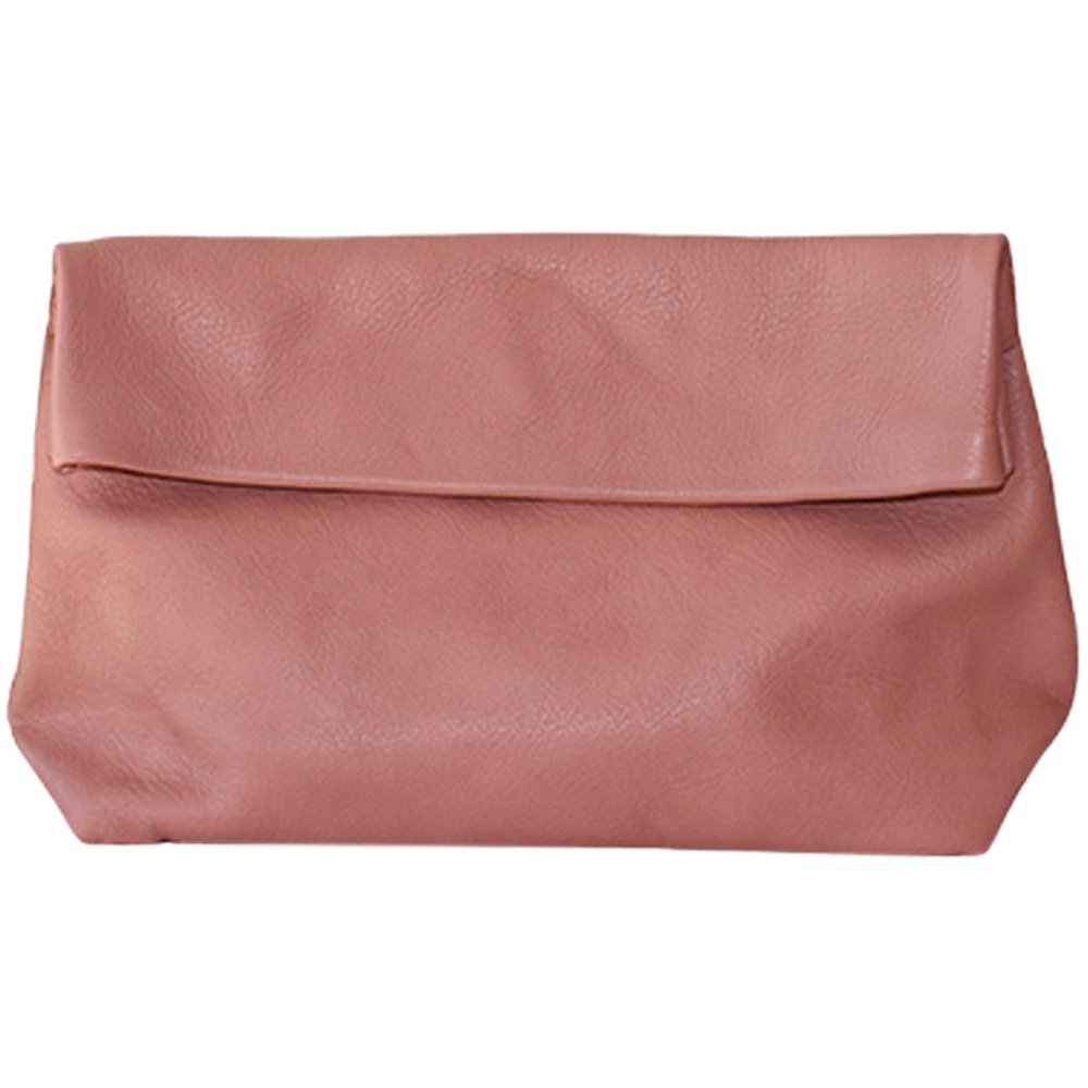 Ripauste by Paul Stephan Large leather clutch IRIS L Old pink Women Spring/Summer Collection