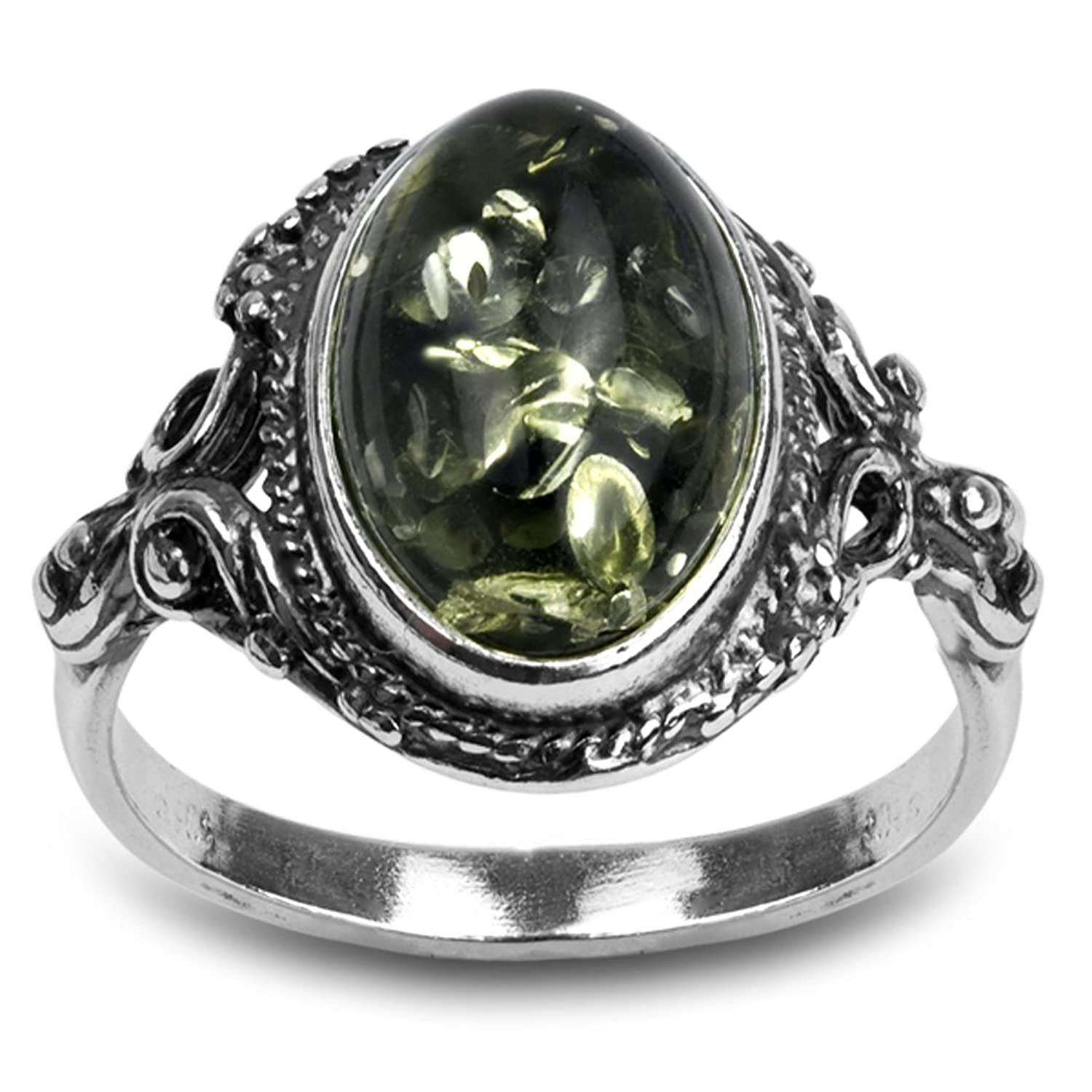 ring zi accessories avery with silver jewelry emerald birthstone c lab created james remembrance rings may gemstone green
