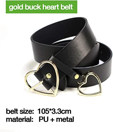 For Jeans Dresses Women Pearl Studded Buckle Leather Belt Black Red Belts Waist