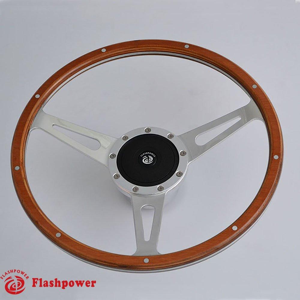 15'' Classic Laminated Wood Steering Wheel Restoration Triumph Spitfire TR4 Vitesse