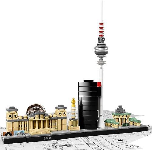 LEGO Architecture Berlin 21027 Skyline Building Set