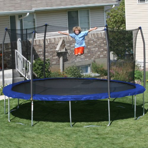 Trampoline Springs B Q: Skywalker Trampolines 15-Feet Round Trampoline And