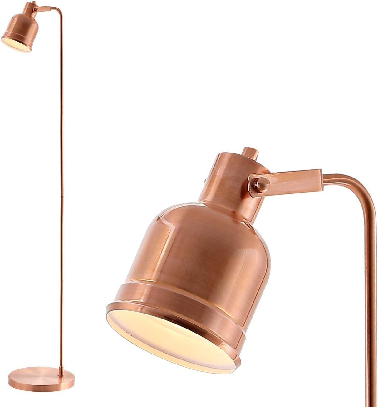 JONATHAN Y JYL6113A Brandon 57″ Metal Task LED Floor Lamp