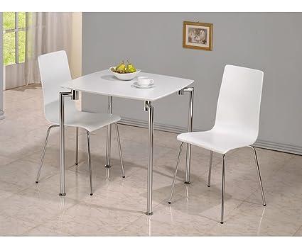 a4391981fa Dove White 2 Seater Breakfast Set: Amazon.co.uk: Kitchen & Home