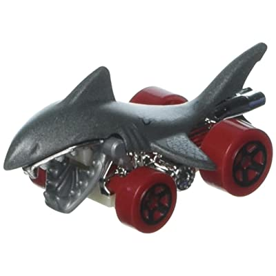 Hot Wheels 2020 Street Beasts Shark Bite (Shark Car) 243/365, Gray: Toys & Games
