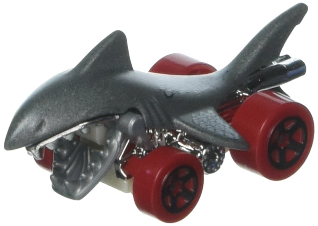 Hot Wheels 2017 Street Beasts Shark Bite (Shark Car) 243/365, Gray