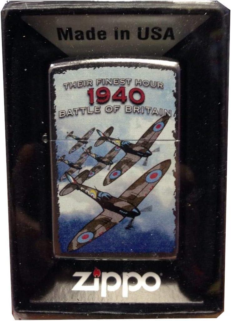 Zippo Briquet de collection Edition 50,8 cm 1940 Bataille dAngleterre