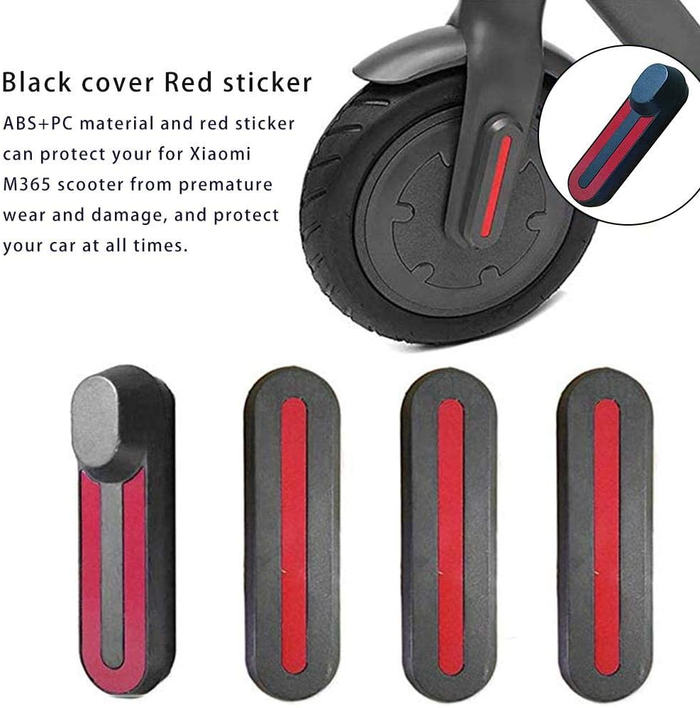 4pcs Front Rear Wheel Tyre Cover Hubs Protective Case Sticker For Xiaomi M365