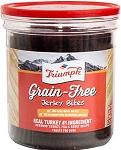 Triumph Grain-Free Jerky Bites, Turkey - 20 Ounce