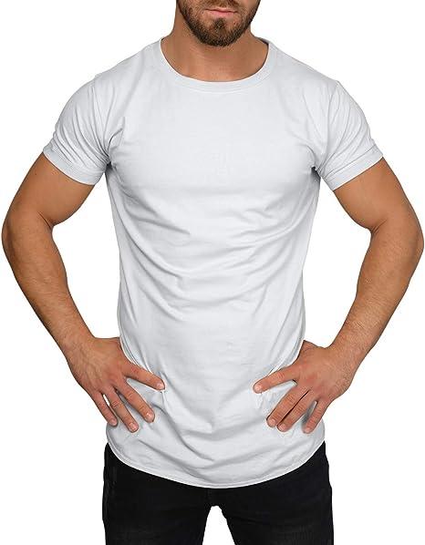 QULAXITY XVI Camisa de Hombre Oversize Cuello Redondo