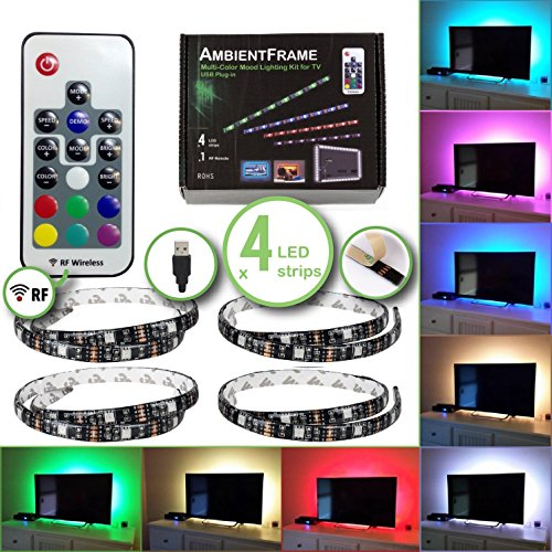 Rf Switch Tv (TV LED Backlight, 5v USB Led Lights Kit - x4 qty 20