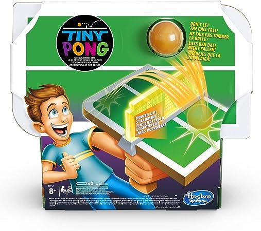 Hasbro Gaming - Juego infantil Tiny Pong (Hasbro E3112EU4): Amazon.es: Juguetes y juegos