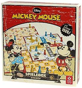 ASS Altenburger 22500201 - Mickey Mouse Spielesammlung, Retro Edition