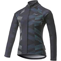 CATENA Women's Cycling Jersey Thermal Shirt Top Autumn and Winter Long Sleeve Bicycle Jacket
