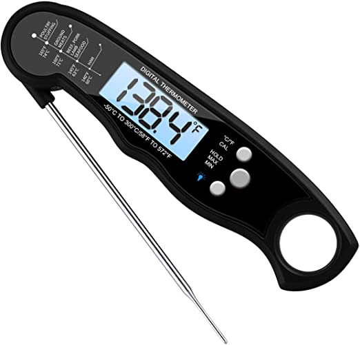 LCD Display Digitales Einstech ThermometerBraten KüchenLebensmittelBBQ