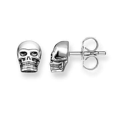 1a874eb64 Thomas Sabo H1731-001-12 Sterling Silver 925 Stud Earrings: Amazon.co.uk:  Jewellery