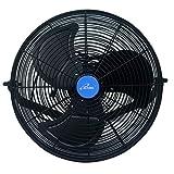 iLIVING 15 Wall Mount Outdoor Waterproof Fan
