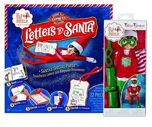 Elf on the Shelf(R) Letters to Santa & Superhero Set