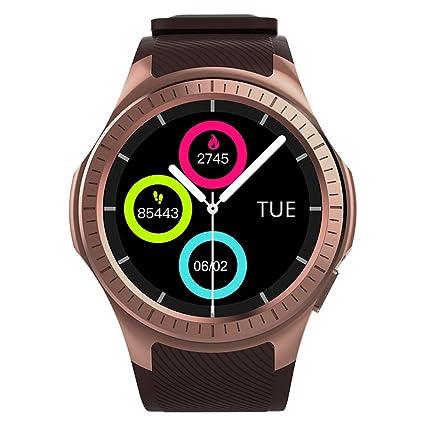 Docooler Microwear L1 Smartwatch 2G Teléfono GSM reloj 1.3 pulgadas Redondo HD IPS Pantalla Bluetooth Monitor de sueño de ritmo cardíaco Cámara remota ...