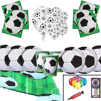 Suministros de Paquete de Fiesta de Fútbol Decoraciones de Fútbol ...