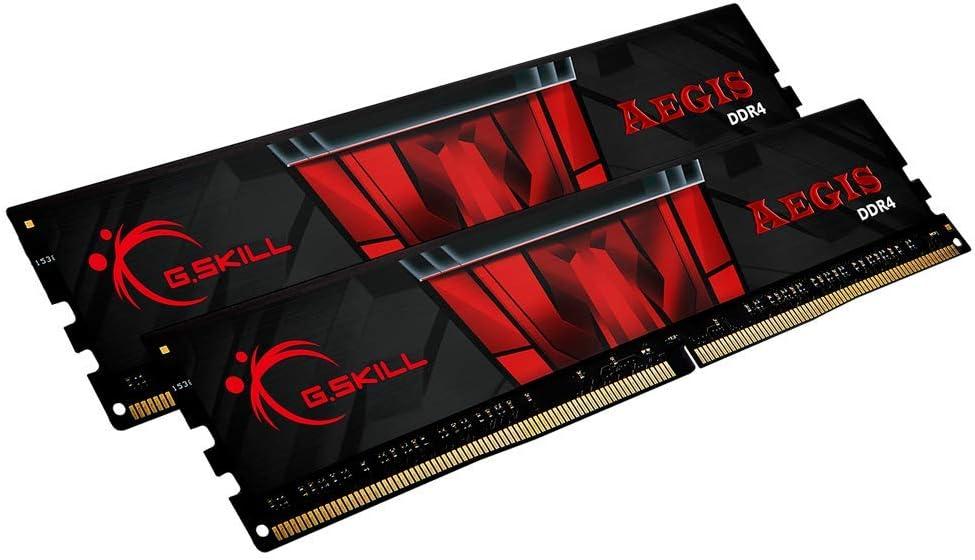 G.Skill F4-3200C16D-16GIS Aegis - Memoria RAM de 16 GB (2 módulos de 8 GB)