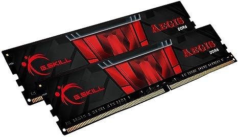 Imagen deG.Skill F4-3200C16D-16GIS Aegis - Memoria RAM de 16 GB (2 módulos de 8 GB)